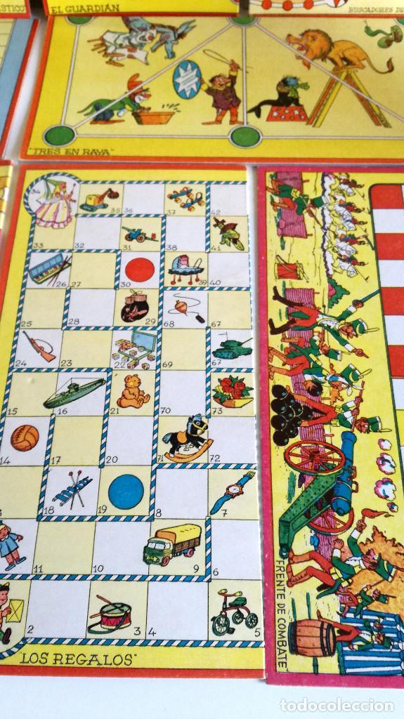 Juegos de mesa: Excelente Lote 23 juegos cartones antiguos Juegos Reunidos Geyper dibujante Kapa - Foto 29 - 192133451