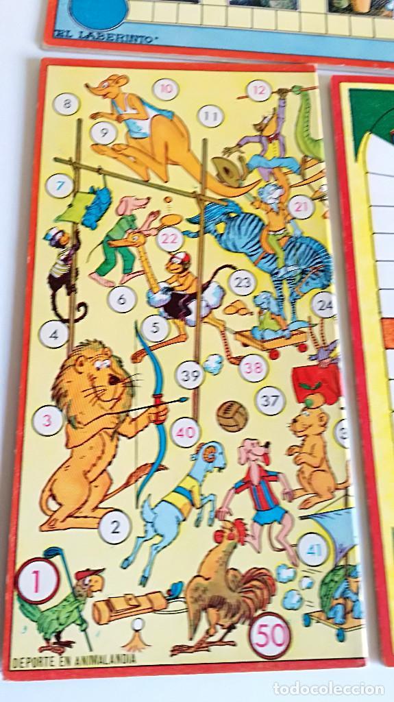 Juegos de mesa: Excelente Lote 23 juegos cartones antiguos Juegos Reunidos Geyper dibujante Kapa - Foto 31 - 192133451