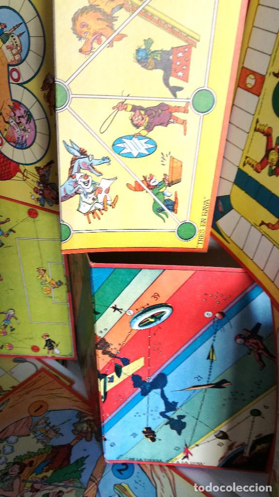 Juegos de mesa: Excelente Lote 23 juegos cartones antiguos Juegos Reunidos Geyper dibujante Kapa - Foto 32 - 192133451