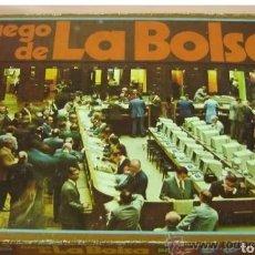 Juegos de mesa: JUEGO DE LA BOLSA , NUNCA JUGADO. Lote 192197052