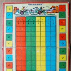 Juegos de mesa: JUEGO DE LAS QUINIELAS (VALENCIANA/JUEGOS REUNIDOS GEYPER). DIBUJOS DE KARPA. CARTÓN PLEGADO.. Lote 192446747