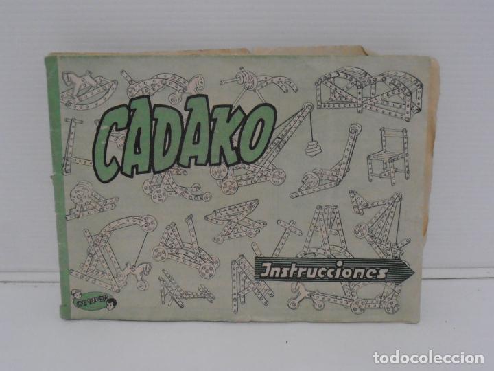 Juegos de mesa: JUEGO DE CONSTRUCCIONES, CADAKO, SUPER BOX CON INSTRUCCIONES, GEYPER, FABRICADO EN ESPAÑA - Foto 4 - 192521448