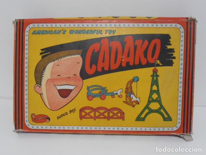 Juegos de mesa: JUEGO DE CONSTRUCCIONES, CADAKO, SUPER BOX CON INSTRUCCIONES, GEYPER, FABRICADO EN ESPAÑA - Foto 5 - 192521448