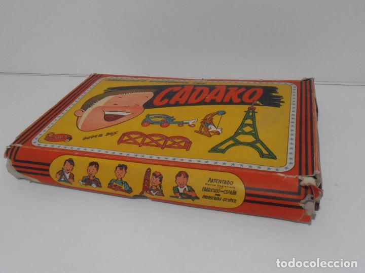 Juegos de mesa: JUEGO DE CONSTRUCCIONES, CADAKO, SUPER BOX CON INSTRUCCIONES, GEYPER, FABRICADO EN ESPAÑA - Foto 6 - 192521448
