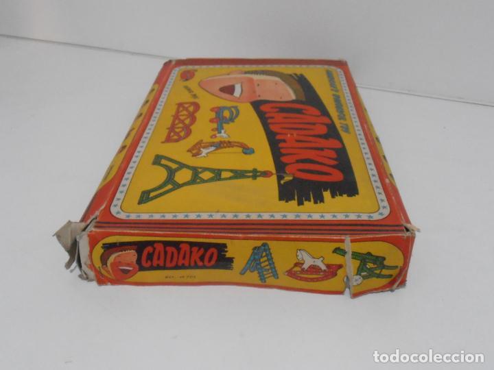 Juegos de mesa: JUEGO DE CONSTRUCCIONES, CADAKO, SUPER BOX CON INSTRUCCIONES, GEYPER, FABRICADO EN ESPAÑA - Foto 7 - 192521448