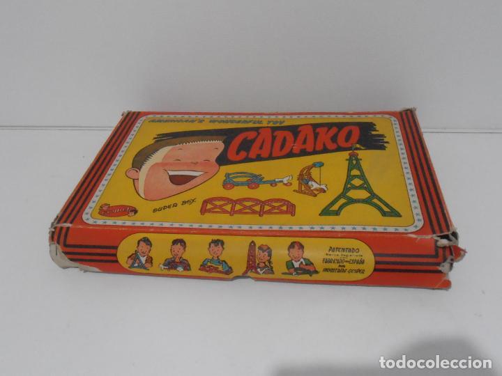 Juegos de mesa: JUEGO DE CONSTRUCCIONES, CADAKO, SUPER BOX CON INSTRUCCIONES, GEYPER, FABRICADO EN ESPAÑA - Foto 11 - 192521448