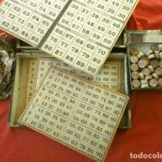 Juegos de mesa: MUY ANTIGUO JUEGO DE LOTERIA (POSIBLE FINAL SIGLO XIX, PRINCIPIOS XX) LOTO TIPO BINGO O QUINA. Lote 192823775