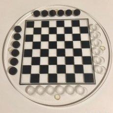 Juegos de mesa: JUEGO DE DAMAS DE METACRILATO. Lote 192891551