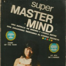 Juegos de mesa: JUEGO DE MESA - SUPER MASTER MIND DE H.H.- AÑO 1976. Lote 192913045