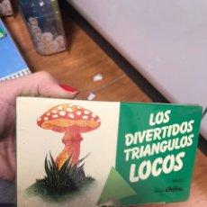 Juegos de mesa: LOS DIVERTIDOS TRIÁNGULOS LOCOS. Lote 192933431