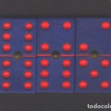 Juegos de mesa: DOMINO DEL F. C. BARCELONA - NUEVO CON ESTUCHE. Lote 192960883