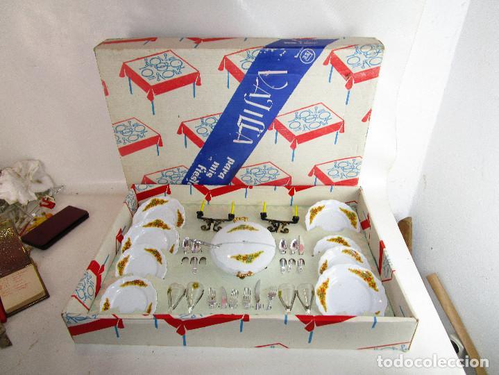 VAJILLA ANTIGUA PLASTICAS SANTA ELENA 2 X1 MENAJE COCINA GRUPO BROTONS IBI ALICANTE (Juguetes - Juegos - Juegos de Mesa)