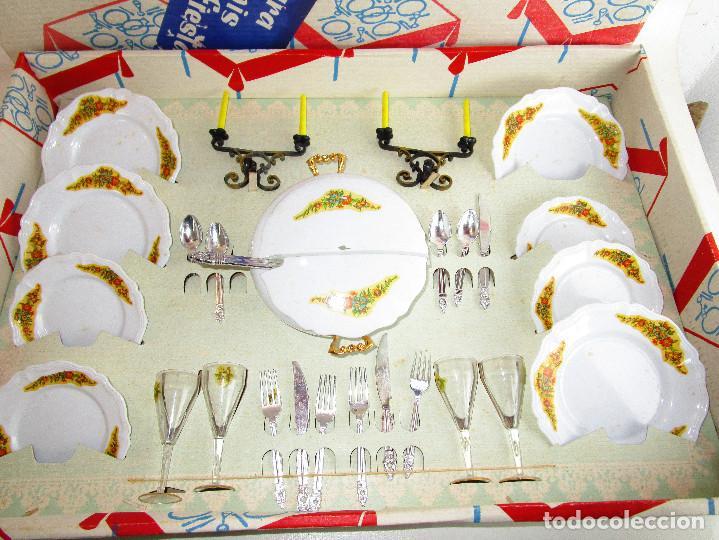 Juegos de mesa: VAJILLA ANTIGUA PLASTICAS SANTA ELENA 2 X1 MENAJE COCINA GRUPO BROTONS IBI ALICANTE - Foto 2 - 193035207