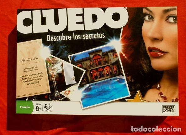 CLUEDO DESCUBRE LOS SECRETOS (COMPLETO Y NUEVO) JUEGO DE MESA FAMILIA PARKER HASBRO 2008 (Juguetes - Juegos - Juegos de Mesa)