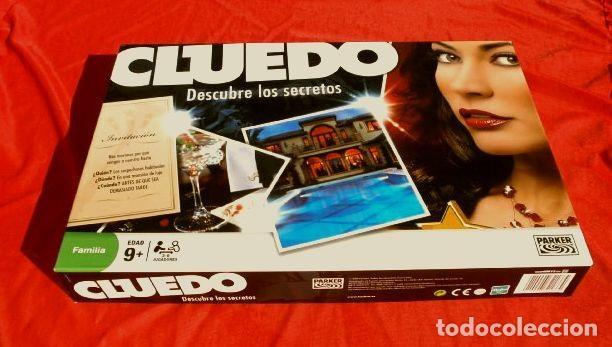 Juegos de mesa: CLUEDO DESCUBRE LOS SECRETOS (COMPLETO Y NUEVO) JUEGO DE MESA FAMILIA PARKER HASBRO 2008 - Foto 2 - 193035550