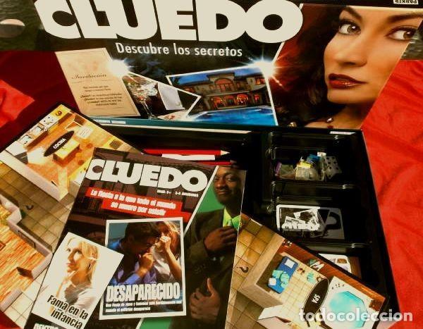 Juegos de mesa: CLUEDO DESCUBRE LOS SECRETOS (COMPLETO Y NUEVO) JUEGO DE MESA FAMILIA PARKER HASBRO 2008 - Foto 3 - 193035550