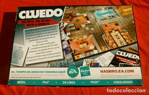 Juegos de mesa: CLUEDO DESCUBRE LOS SECRETOS (COMPLETO Y NUEVO) JUEGO DE MESA FAMILIA PARKER HASBRO 2008 - Foto 6 - 193035550