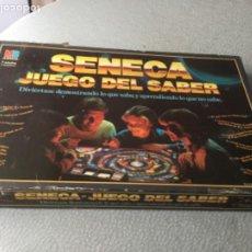Juegos de mesa: SENECA, JUEGO DEL SABER DE LA MARCA MB, DEL AÑO 1985 . Lote 193283407