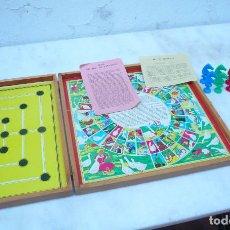 Juegos de mesa: JUEGOS DE MESA FRANCIA, LA OCA, DAMAS, MARELLE Y CANASSON . Lote 193288101