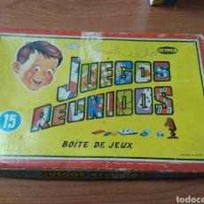 Juegos de mesa: JUEGOS REUNIDOS GEYPER 16. Lote 193316862