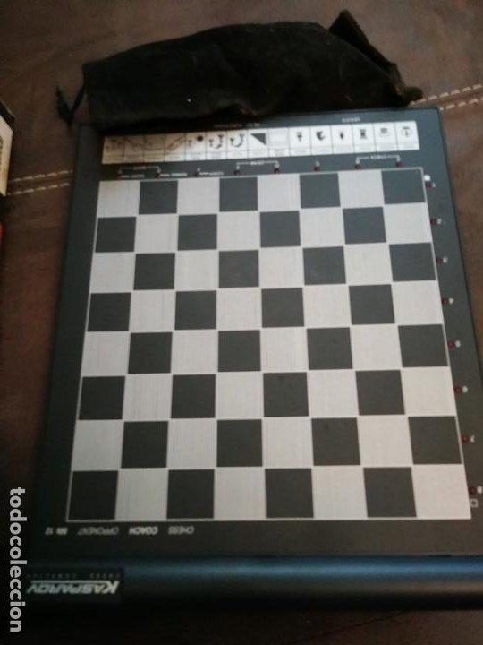 Juegos de mesa: Saitek Kasparov Mk12 Trainer juego de ajedrez ajedrez electrónico Vintage funcionando - Foto 3 - 193330902