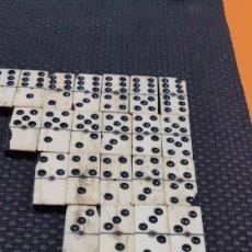 Juegos de mesa: DOMINO EN MINIATURA SXIX. Lote 193361225