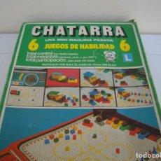 Juegos de mesa: CHATARRA INCOMPLETO. Lote 193361312