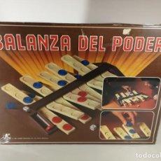 Juegos de mesa: ANTIGUO JUEGO BALANZA DEL PODER BORRAS REF. 8080 NUEVO A ESTRENAR PRECINTADO. Lote 193556771
