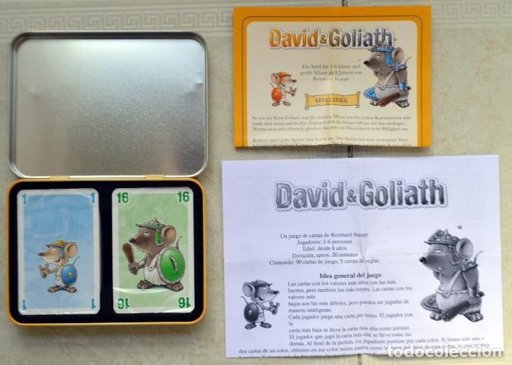 Juegos de mesa: JUEGO DE MESA. DAVID GOLIATH. PEGASUS SPIELE. 2008. SIN ESTRENAR - Foto 3 - 203565120