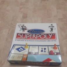 Juegos de mesa: JUEGO SUPERPOLY CLASSIC. Lote 193715591