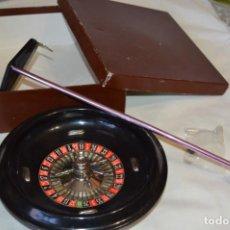 Juegos de mesa: IMPRESIONANTE RULETA DE BAKELITA / HCA PRODUCTOS - MADE IN SPAIN - 24 CM DIÁMETRO ¡MIRA!. Lote 193793712