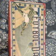 Juegos de mesa: JUEGO FÚTBOL DADOS AÑOS 30. Lote 193798356