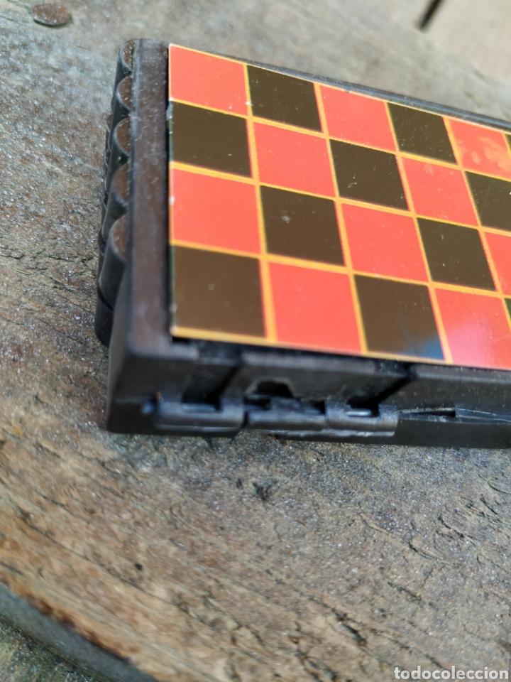 Juegos de mesa: Antigua juego de damas portátil de yogures yoplait - Foto 3 - 193910030