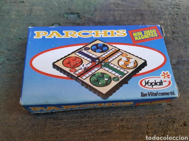 ANTIGUO JUEGO DE MESA PARCHÍS YOGURES YOPLAIT (Juguetes - Juegos - Juegos de Mesa)