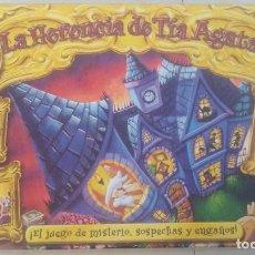 Giochi da tavolo: LA HERENCIA DE TIA AGATA - PARKER. Lote 193938447