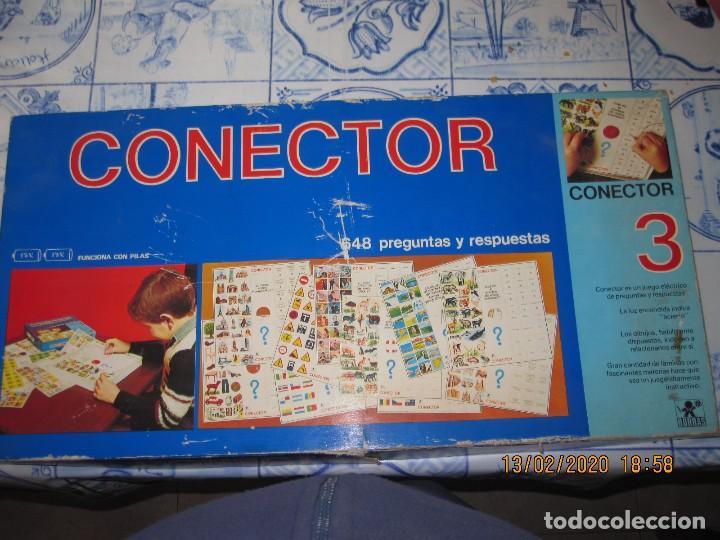 CONECTOR 3 DE BORRAS, JUEGO DE MESA 648 PREGUNTAS Y RESPUESTAS (Juguetes - Juegos - Juegos de Mesa)