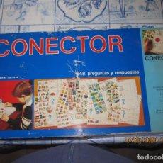 Juegos de mesa: CONECTOR 3 DE BORRAS, JUEGO DE MESA 648 PREGUNTAS Y RESPUESTAS. Lote 193943122