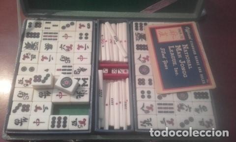 MALETIN DOMINO CHINO MAH-JONGG (Juguetes - Juegos - Juegos de Mesa)