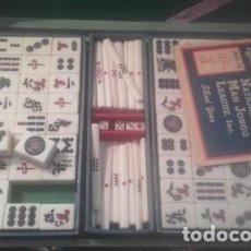 Juegos de mesa: MALETIN DOMINO CHINO MAH-JONGG. Lote 194126472