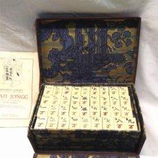 Juegos de mesa: MAH - JONGG DE BORRÁS AÑOS 20. Lote 194189996