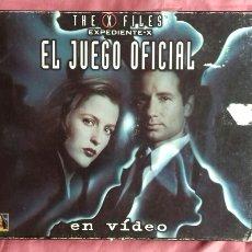 Juegos de mesa: EXPEDIENTE X. EL JUEGO OFICIAL EN VÍDEO. DE 1997.. Lote 194211833