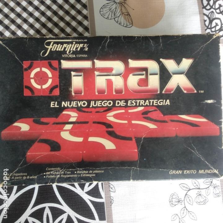 COMPLETO FOURNIER TRAX JUEGO DE ESTRATEGIA HERACLIO VITORIA (Juguetes - Juegos - Juegos de Mesa)
