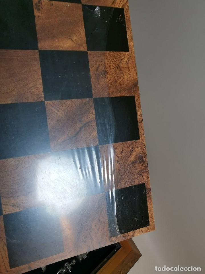 Juegos de mesa: Caja tablero de ajedrez. de Tarraco...Diari de Tarragona ..piezas metal -PRECINTADO AÑOS 90 - Foto 18 - 194228240