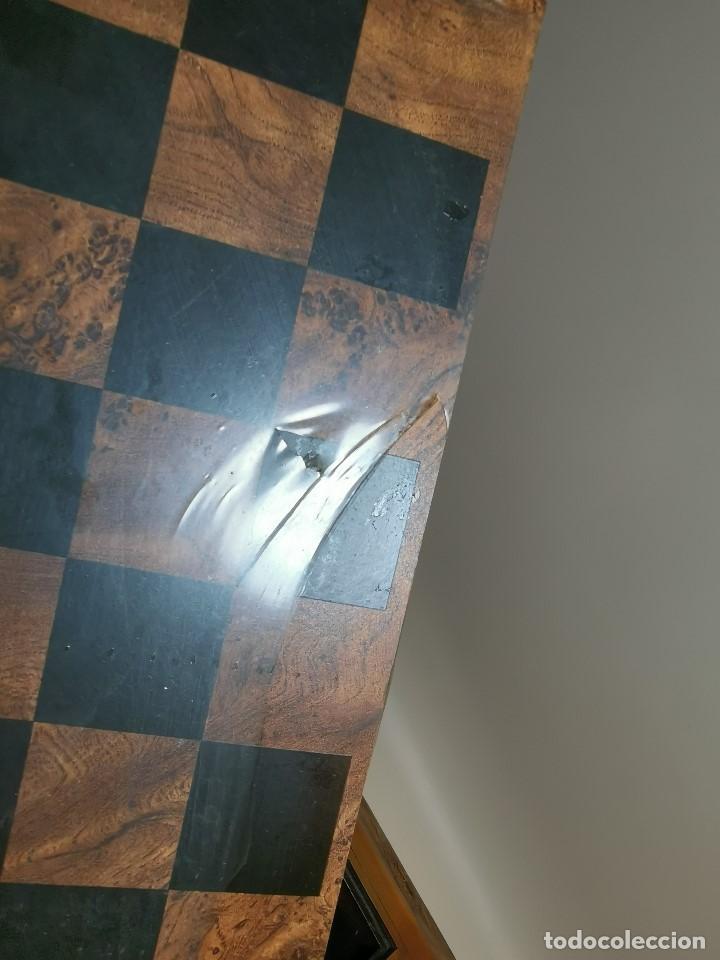 Juegos de mesa: Caja tablero de ajedrez. de Tarraco...Diari de Tarragona ..piezas metal -PRECINTADO AÑOS 90 - Foto 19 - 194228240