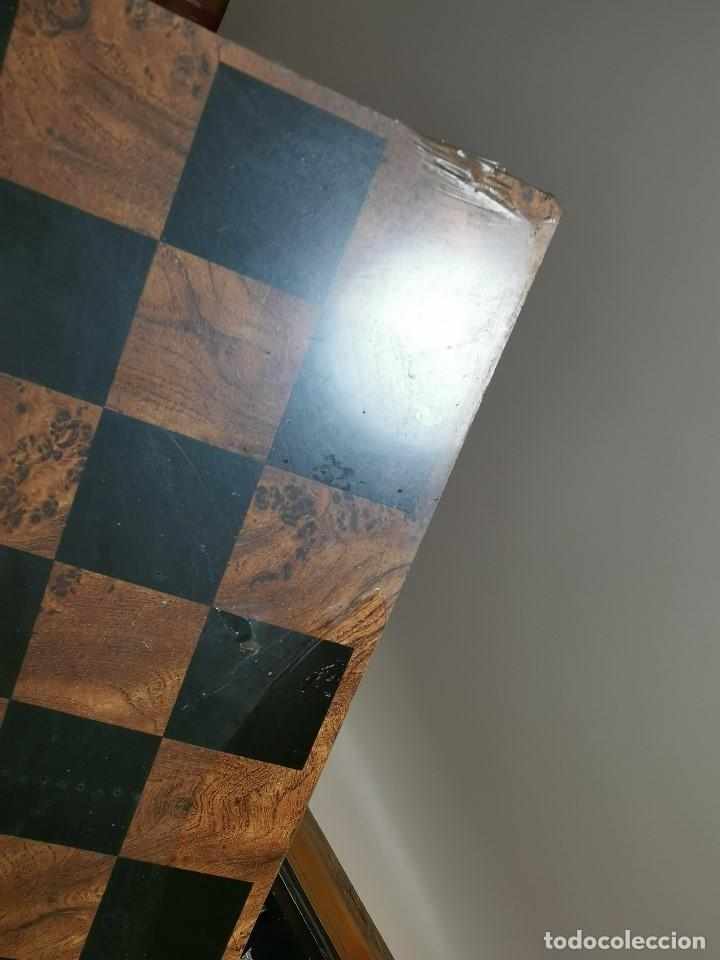 Juegos de mesa: Caja tablero de ajedrez. de Tarraco...Diari de Tarragona ..piezas metal -PRECINTADO AÑOS 90 - Foto 20 - 194228240