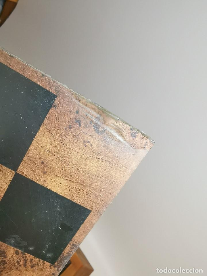 Juegos de mesa: Caja tablero de ajedrez. de Tarraco...Diari de Tarragona ..piezas metal -PRECINTADO AÑOS 90 - Foto 21 - 194228240