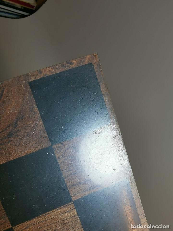 Juegos de mesa: Caja tablero de ajedrez. de Tarraco...Diari de Tarragona ..piezas metal -PRECINTADO AÑOS 90 - Foto 22 - 194228240
