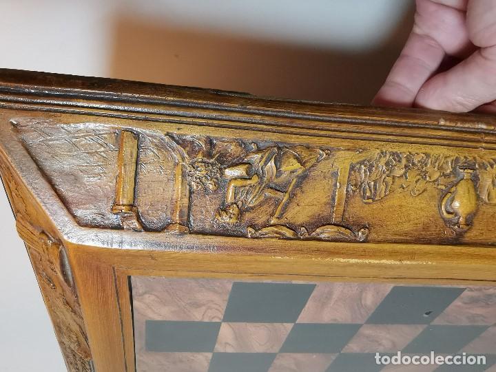 Juegos de mesa: Caja tablero de ajedrez. de Tarraco...Diari de Tarragona ..piezas metal -PRECINTADO AÑOS 90 - Foto 28 - 194228240