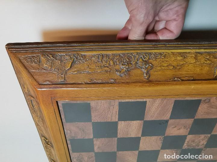 Juegos de mesa: Caja tablero de ajedrez. de Tarraco...Diari de Tarragona ..piezas metal -PRECINTADO AÑOS 90 - Foto 31 - 194228240
