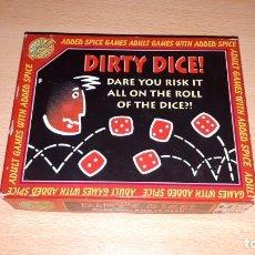 Juegos de mesa: DIRTY DICE AÑO 1997. Lote 194236887